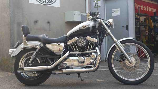 Préparation et Customisation moto Harley Davidson