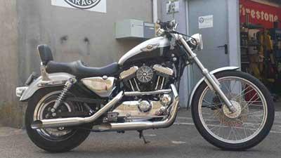 Préparation et Customisation Harley Davidson XL 1200