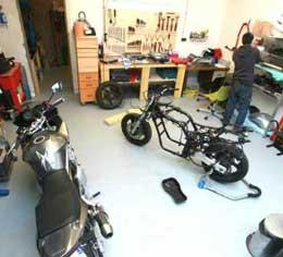 L'atelier d'entretien moto Lille La Bassée